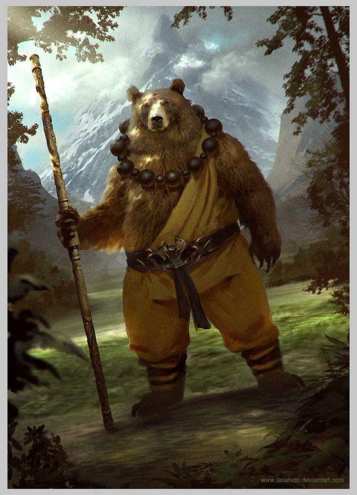Confraria de Arton: Imagens para inspirar - Personagens animais I