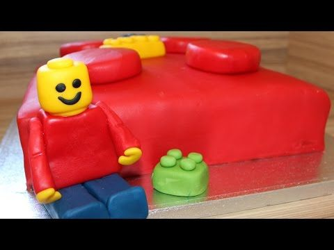 lego torte selber machen anleitung deutsch legostein legoman torte youtube lego party. Black Bedroom Furniture Sets. Home Design Ideas