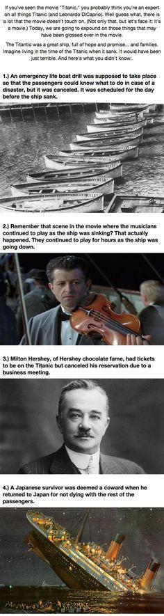 Titanic facts essays