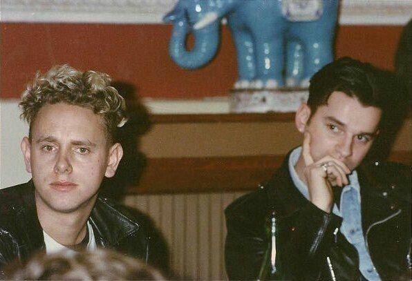 Dave Gahan & Martin L Gore Depeche Mode