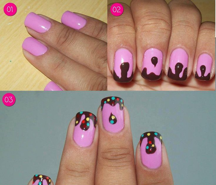 nagel diy | Diy Nail Art Step By Also Easy To Do Nail Art Step By Step As Well As ...