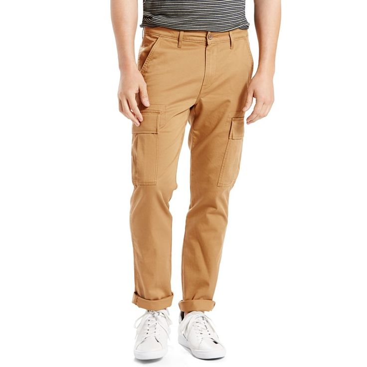 Men's Levi's® 541™ Athletic-Fit Stretch Cargo Pants, Size: 34X32, Brown Oth