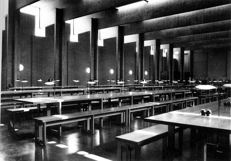 St. Catherine's College. Arne Jacobsen. 1964 -1966. Oxford, UK.