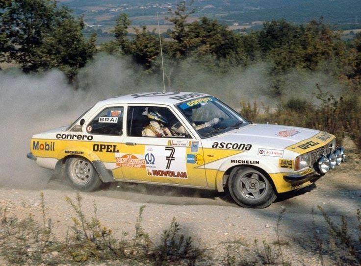 San Remo 1979 - Verini Maurizio - Rudy icon Opel Ascona B