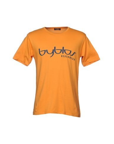 BYBLOS BEACHWEAR Men's T-shirt Orange L INT