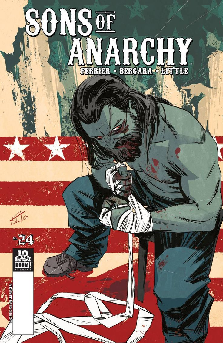 Sons of Anarchy (2013) Issue #24