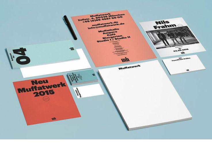 Corporate Design by Herburg Weiland for Muffatwerk.