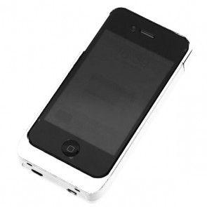 """Juice Pack"" Concept iPhone 4 Bærbar Ladestation (Hvid)"