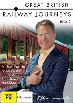 Using a nineteenth century Bradshaw's Handbook for travelling through Victorian Britain, Michael Portillo sets off on four new railway journeys which will take him across Britain. Click Here to buy Great British Railway Journeys - Series 6 DVD.