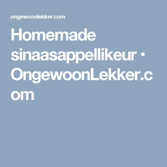 Homemade sinaasappellikeur • OngewoonLekker.com