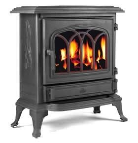 The Broseley Canterbury Slimline Gas Stove combines classic strong looks with delicate lines and pattern-work to suit traditional interiors. Todays housing interiors demand slimline appliances and the Broseley Canterbury fits the equirements by ensuring it sits adequately on any standard size hearth.