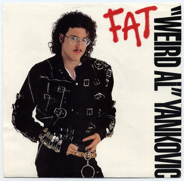 """""""Weird Al"""" Yankovic, Rock 'N' Roll Records/USA (1988) My friends and I listened to this non stop."""