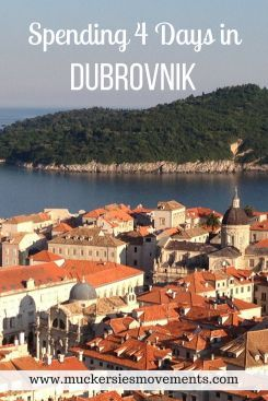Spending 4 Days in Dubrovnik, Croatia. Travel in Europe.