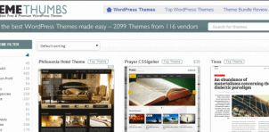 ThemeThumbs: Meer dan 2000 WordPress themes