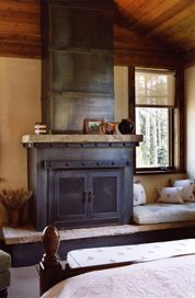 Wrought iron and Fireplace mantels