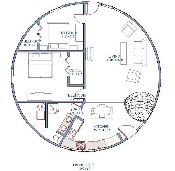 Dome Home Plans: 142 Best Monolithic Dome Homes Images On Pinterest