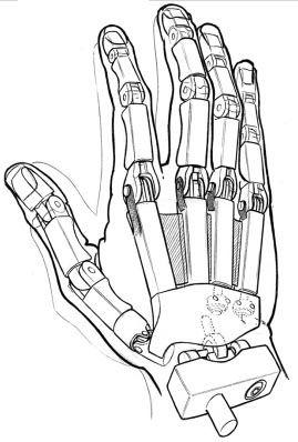 robot hand                                                                                                                                                                                 Plus