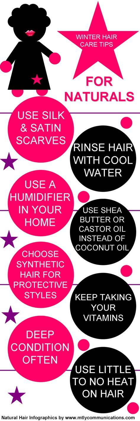 Winter Hair Care Tips For Naturals. Wondering why coconut oil needs to be replaced? Coconut oil becomes liquid at temperatures higher than 75 degrees. Since winter temps are colder, using coconut oil can result in hard hair from the oil re-solidifying in your strands.