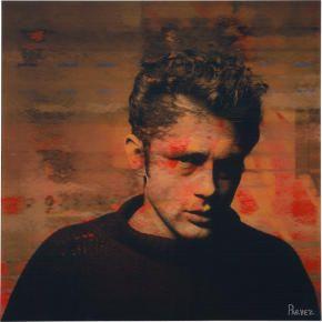 James Dean, pop art, graphic art.