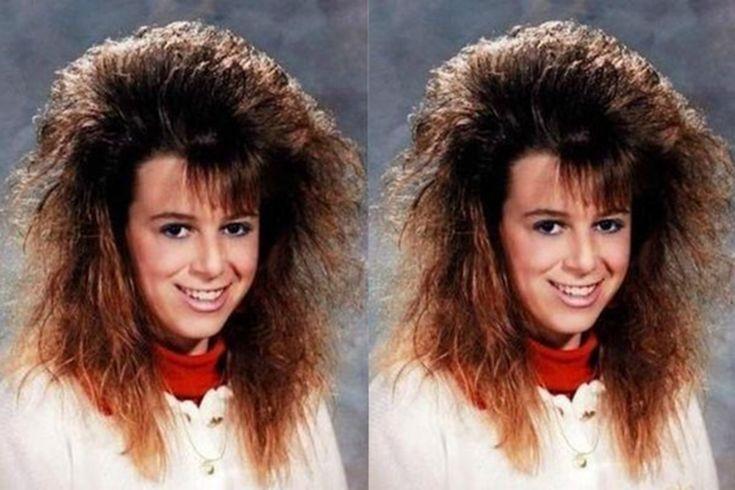 El frizz era el rey del cabello