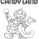 candy land characters coloring pages - photo#25