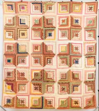 Fine Antique Pieced Quilt