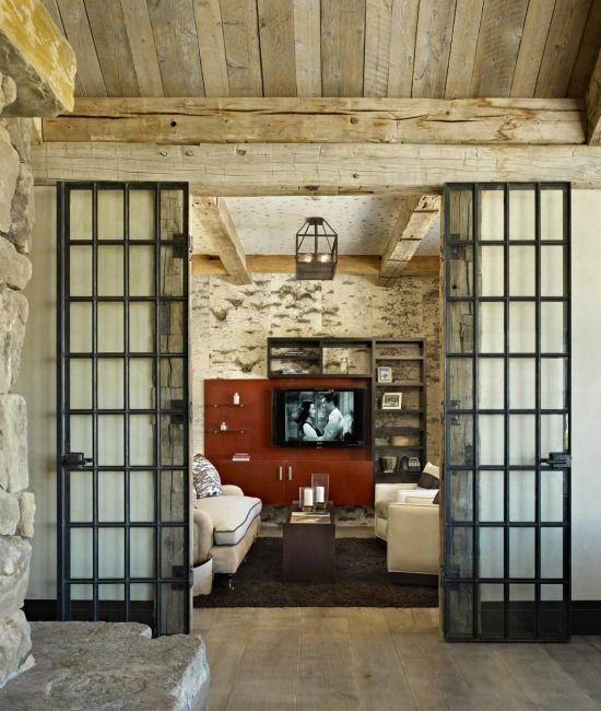 Mums House - Love the doors High Alpine Ranch: Montana