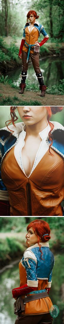 Triss Merigold cosplay costume, The Witcher 3: Wild Hunt, witch, charmed, sorceress, charmer, Triss Merigold of Maribor  $899.00 Buy your costume on www.etsy.com/shop/ShopCosplayCostume #Triss #Merigold #cosplay #costume #TheWitcher3 #WildHunt #witch #charmed #sorceress #charmer #TrissMerigold #Maribor #buy #shop #dragoncon #comiccon