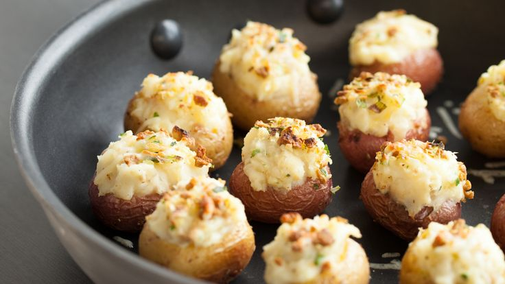 Twice-baked Baby Potatoes