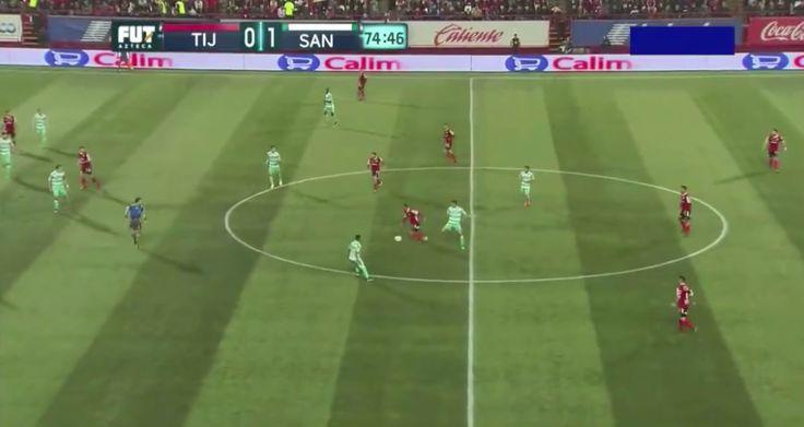 Club Tijuana midfielder Juninho provides sublime assist for Henry Martin (Video)
