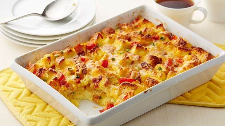 Bacon Egg And Cheese Bubble Up Bake Food Recipes