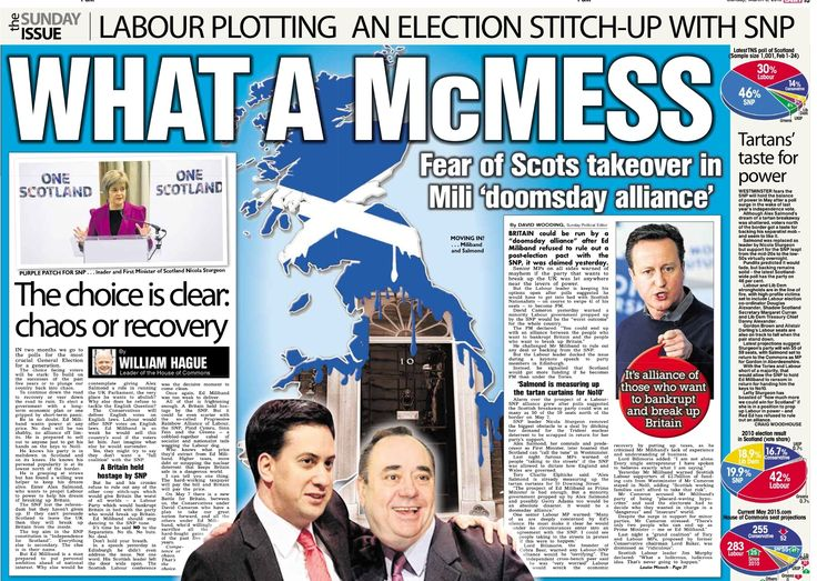 "If you picked up a copy of The Sun On Sunday in Scotland today, it's possible you may have missed this article from the English edition, which hasn't made it across the border due to print gremlins at Carlisle or something. We feel sure that just months ago Scots were being begged to stay in the UK and exercise their ""strong voice in the UK parliament"", but perhaps we're mistaken."