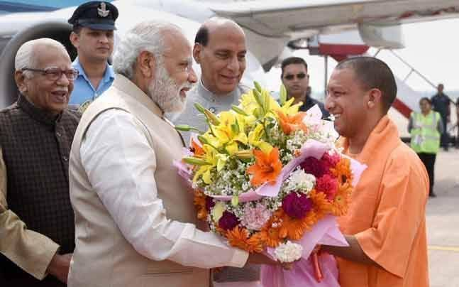International Yoga Day: Saffron mats for Narendra Modi, Yogi Adityanath as stage is set for mega Lucknow event : India, News http://indianews23.com/blog/international-yoga-day-saffron-mats-for-narendra-modi-yogi-adityanath-as-stage-is-set-for-mega-lucknow-event-india-news/
