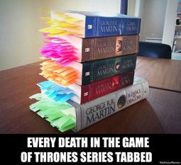 game of thrones who's who chart | Enough tabs to make some game of thrones colorful death confetti ...