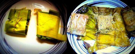 Bhetki Macher Paturi Recipe - Bengali Food