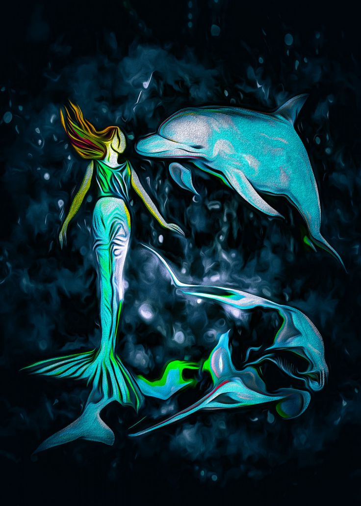 vintage mermaid art prints