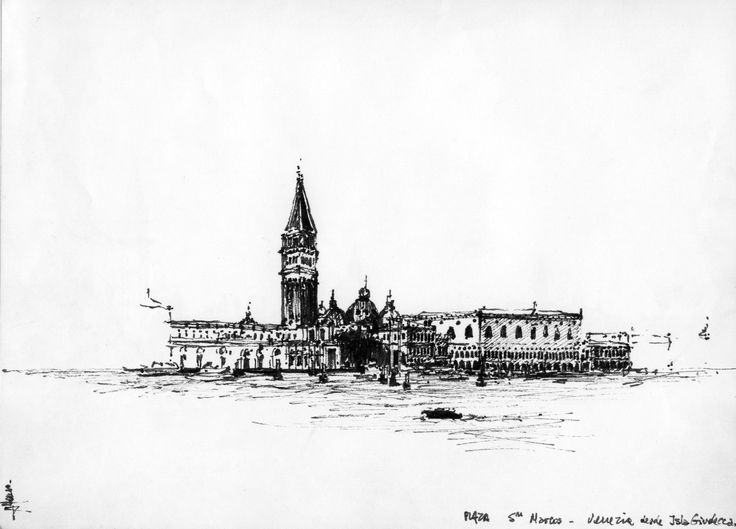Venezia, Plaza San Marcos desde el Gran Canal