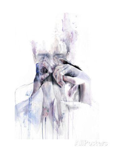 Gestures Affiches par Agnes Cecile sur AllPosters.fr
