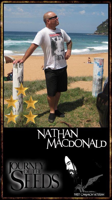 Congrats to Nathan, 'Mac Daddy' Macdonald on his fifth star