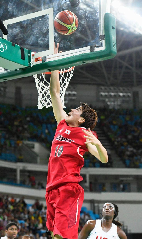 バスケット日本女子 米国に敗れ8位も手応え 渡嘉敷「東京」でメダル宣言 #リオ五輪