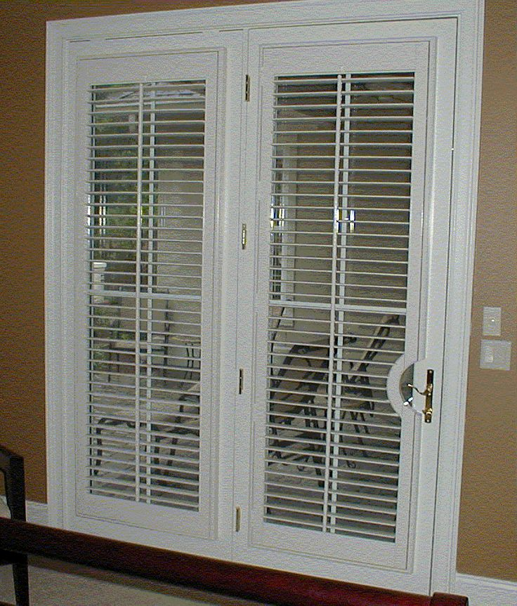 French Doors With Plantation Shutters I Like The Way This