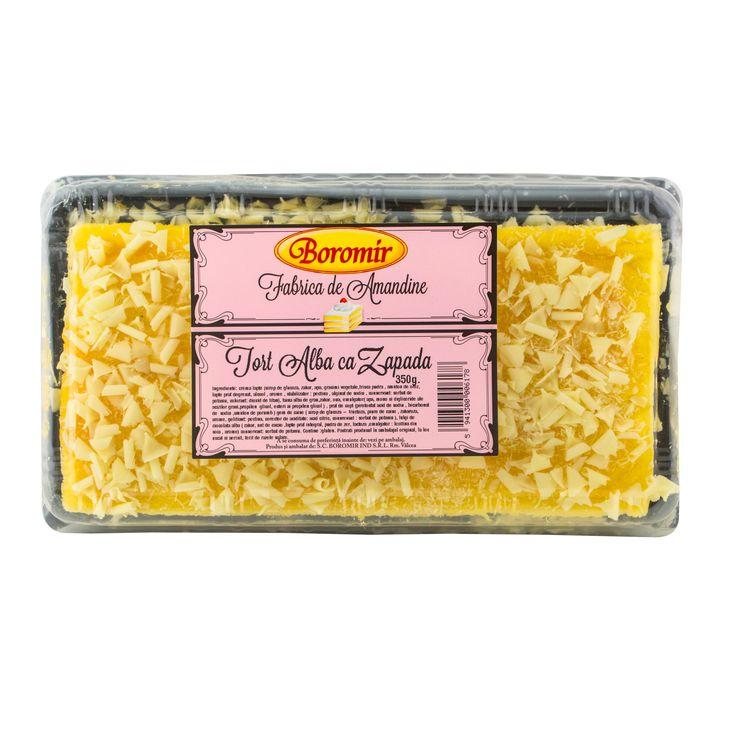 Tort Alba ca zapada 350g Boromir