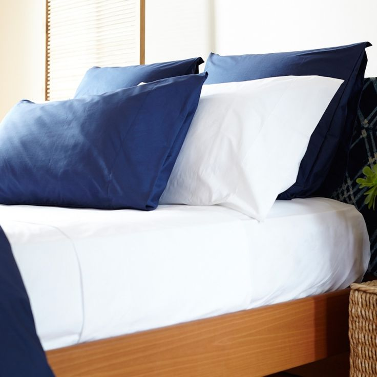 Percalle 250 Luxury Pillow Case - Bed Linen | Veo Lujo