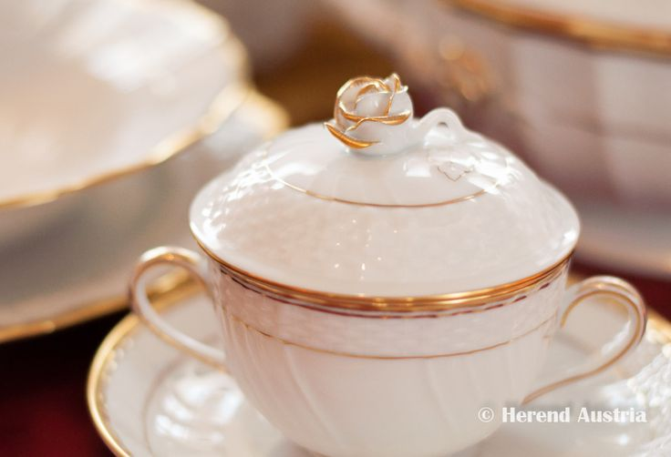 Hadik Porcelain Soup Cup Herend  Porcelain