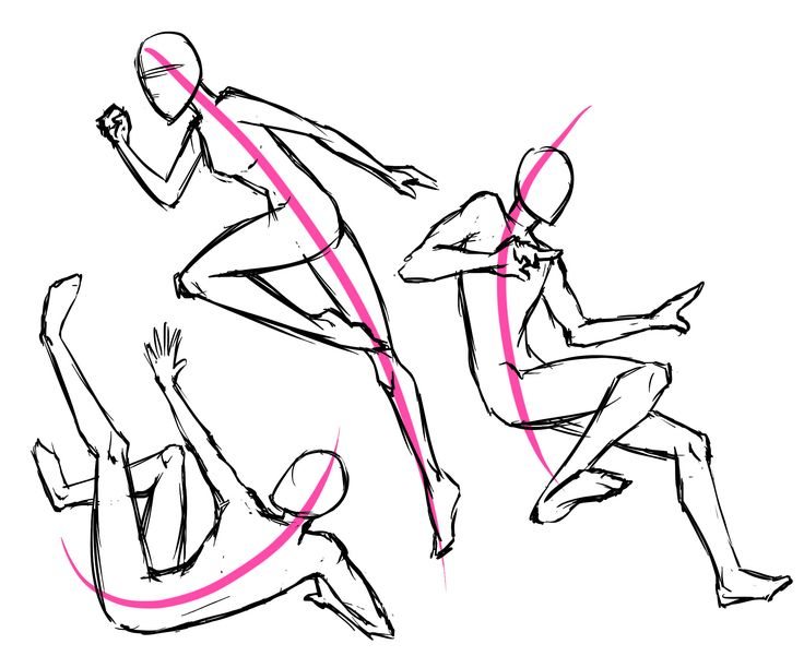 Manga Action Poses | Letraset Blog - Creative Opportunities ...
