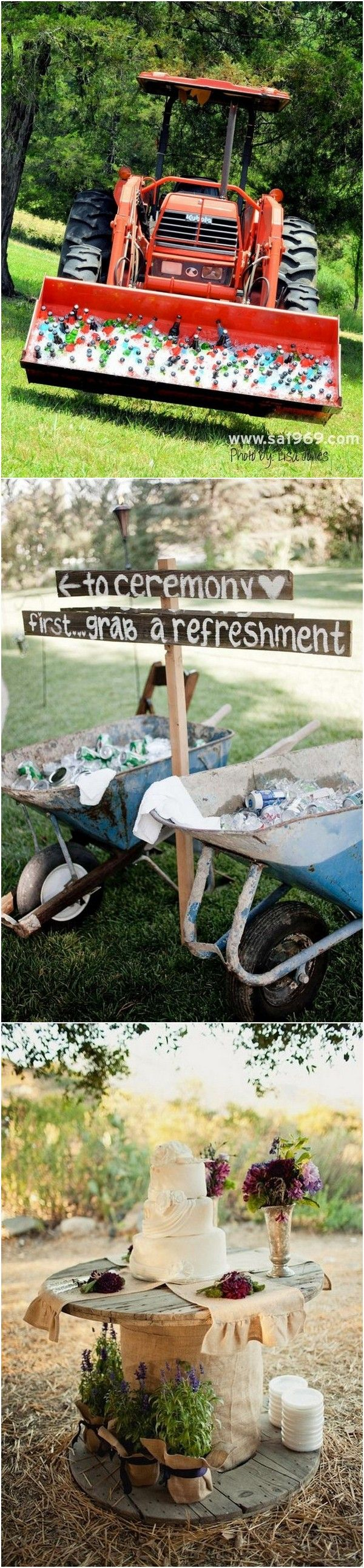 country wedding drink and food station ideas #weddingideas #countrywedding #rusticwedding #farmwedding #wedding2018