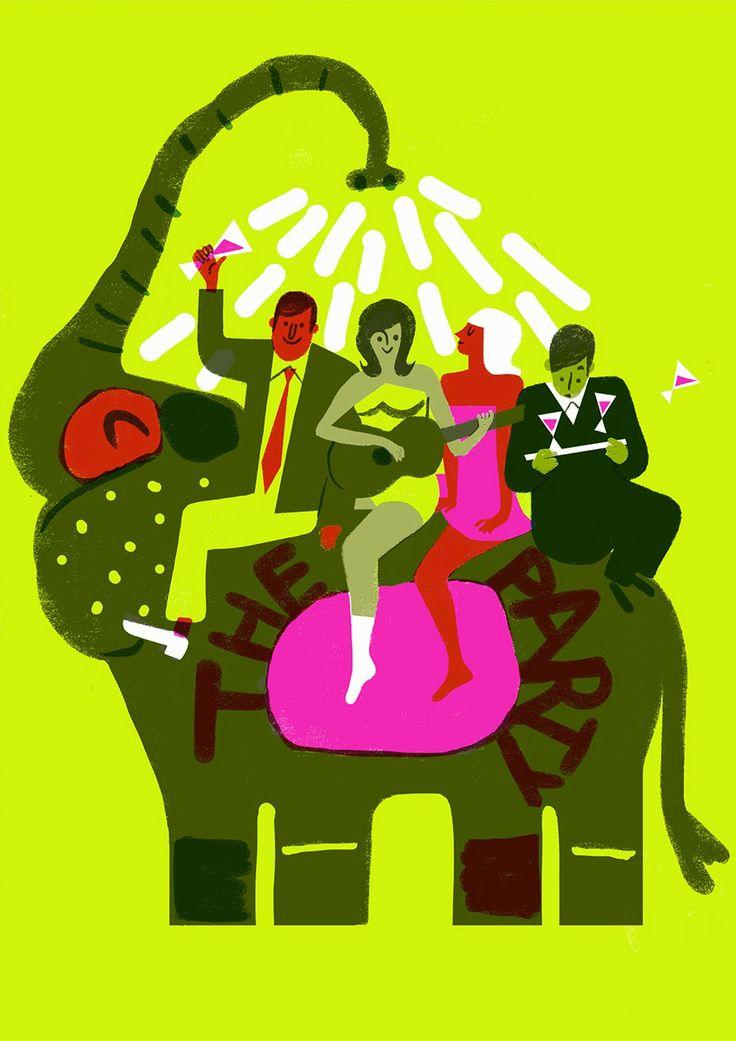 The Party (1968) de Blake Edwards