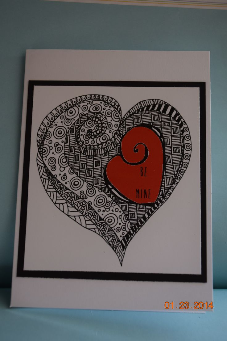 125 best Zentangle Cards images on Pinterest  Drawing Mandalas