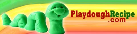 PlayDoughRecipe.com - recipes for all sorts of clay or play dough. Incl edible play dough, cooked play dough, coffee dough, no cook play dough and many more