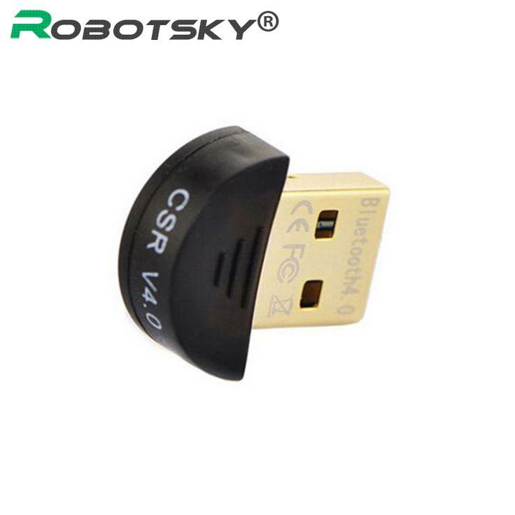 Calidad Superior de La Venta caliente Mini USB Adaptador Bluetooth V 4.0 Modo Dual Wireless Dongle RSE 4.0 Para Win7/8/XP 25
